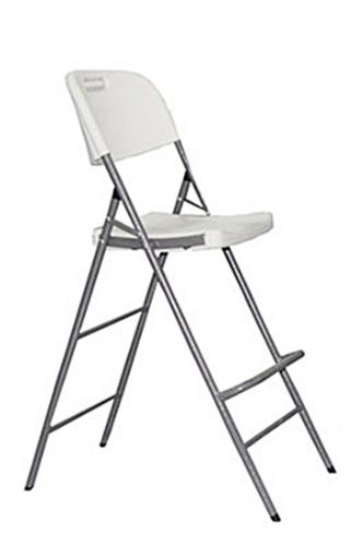 Venta de sillas para eventos catering hosteleria - Silla alta plegable ...